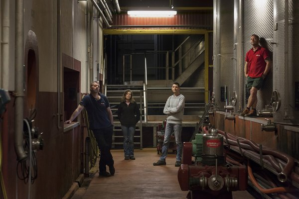 The Winemaker and his talented team
